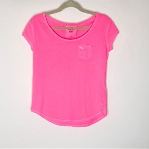 Abercrombie & Fitch neon pink t shirt nWOT small